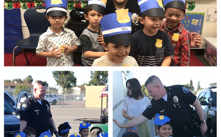 Preschoolers & Police Unite for Fun Lesson about Community Helpers - article thumnail image